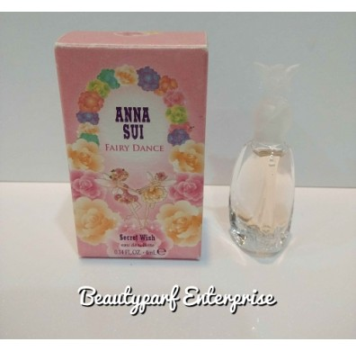 Anna Sui Fairy Dance Secret Wish  4ml EDT Non Spray