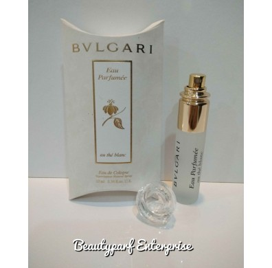 Bvlgari Eau Parfumee Au The Blanc unisex 10ml EDC Spray