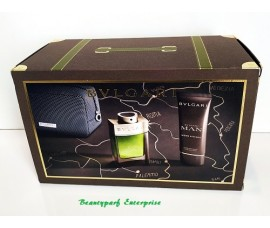 Bvlgari Man Wood Essence 100ml EDP Spray Travel Set