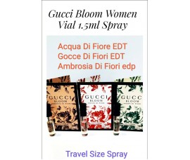 Gucci Bloom Women Vial 1.5ml X 3pcs Collection Pack