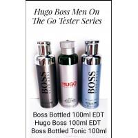 Hugo Boss On The Go Spray Fresh EDT 100ml Tester Pack - Boss Bottled / Hugo Boss / Boss Bottled Tonic