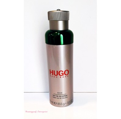 Hugo Boss On The Go Spray Fresh EDT 100ml Tester Pack - Boss Bottled / Hugo Boss / Boss Bottled Tonic