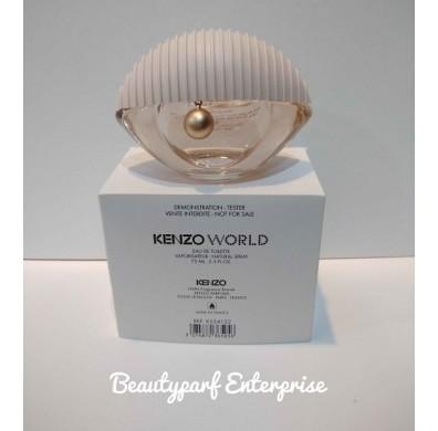 Kenzo World 75ml EDT Spray Tester Pack