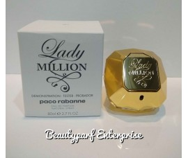 Paco Rabanne One Million Women 80ml EDP Spray Tester Pack