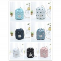 Travel Toiletry Makeup Storage Cosmetic Drawstring Bag + Mini Pouch + PVC Pouch