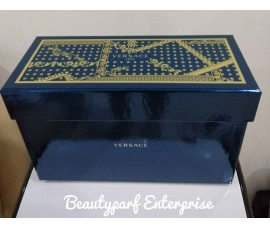 VERSACE EROS 100ML EDT SPRAY + 100ML SHOWER GEL + VERSACE BLACK TROUSSE