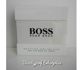 Hugo Boss Bottled Unlimited Coffret Set 100ml EDT Spray