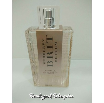 Burberry Brit Rhythm Floral Tester Pack 90ml EDT Spray