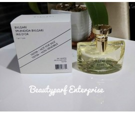 Bvlgari Splendida Iris D'or 100ml EDP Spray Tester Pack
