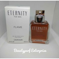 Calvin Klein - CK Eternity Flame Men 100ml EDT Spray Tester Pack