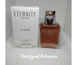 Calvin Klein - CK Eternity Flame Men 100ml EDT Spray Tester Pack
