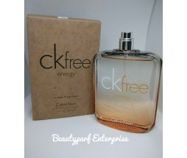 Calvin Klein – CK Free Energy Men 100ml Tester Pack EDT Spray