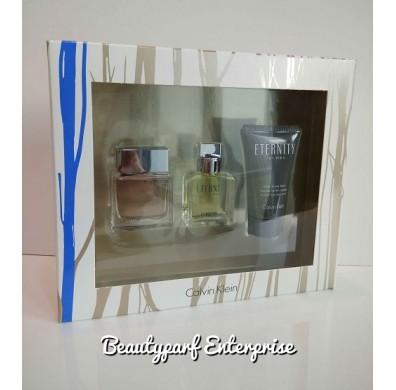 Calvin Klein - CK Eternity + Euphoria Men Miniature Set 15ml Non Spray