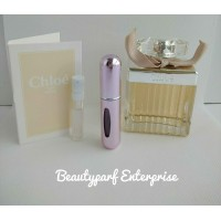 Chloe Signature Women In 5ml EDP Refillable Spray + Free Chloe Fleur De Parfum 1.2ml EDP Spray - HOT BUY!
