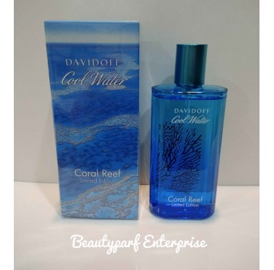 Davidoff Cool Water Coral Reef  Men 125ml EDT Spray