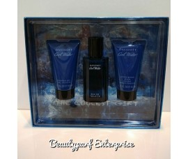 Davidoff - Cool Water Men 40ml EDT Spray + 50ml Shower Gel + 50ml Aftershave Balm