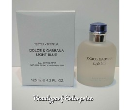 Dolce & Gabanna – D&G Light Blue Men 100ml Tester Pack EDT Spray