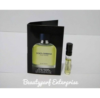 Dolce & Gabanna – D&G Pour Homme 1.5ml EDT Spray