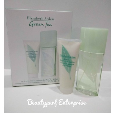 Elizabeth Arden - EA Green Tea 100ml EDT Spray + 100ml Refreshing Body Lotion