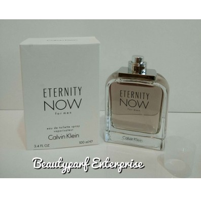 Calvin Klein – CK Eternity Now Men Tester Pack 100ml EDT Spray