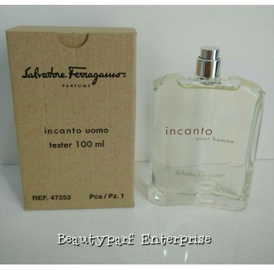 Salvatore Ferragamo - Incanto Uomo Tester Pack 100ml EDT Spray