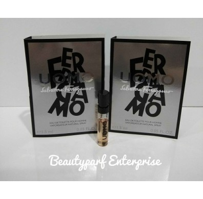 Salvatore Ferragamo Uomo Men Vial 1.5ml EDT Spray