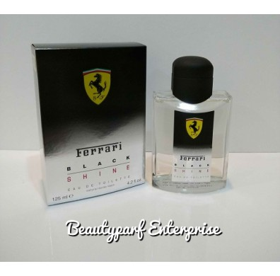 Ferrari Black Shine 125ml EDT Spray