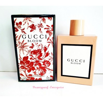 Gucci Bloom Women 100ml EDP Spray With Free Gucci Premier Vial
