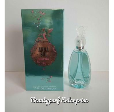 Anna Sui Secret Wish Women 75ml EDT Spray