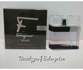 Salvatore Ferragamo - F By Ferragamo Black Pour Homme 100ml EDT Spray