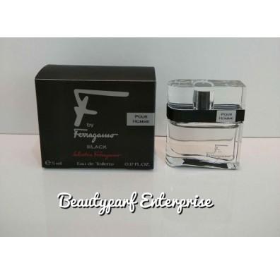 Salvatore Ferragamo - F By Ferragamo Black Pour Homme 5ml EDT Non Spray