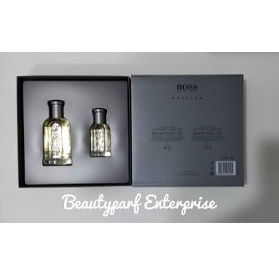 Hugo Boss Bottled Set - 100ml EDT Spray + 30ml EDT Spray