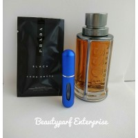 Hugo Boss The Scent Men In 5ml Refillable Spray + Free Prada Black Men 1.5ml EDP Spray - HOT BUY!