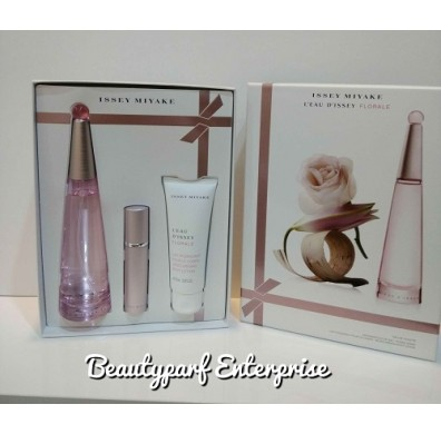 Issey Miyake L'eau D'issey Florale Gift Set 90ml EDT Spray