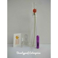 Kenzo Flower Women In 5ml EDT Refillable Spray + Free MJ Daisy Eau So Fresh 1.2ml EDT Spray - HOT BUY!
