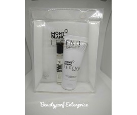 Mont Blanc - Legend Spirit Men 7.5ml EDT Spray + 50ml Aftershave Balm