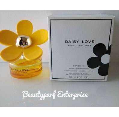 Marc Jacobs Daisy Love Sunshine Tester 50ml EDT Spray - LTD EDITION