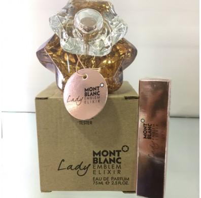 Mont Blanc Emblem Elixir Women 75ML Tester Pack EDP Spray