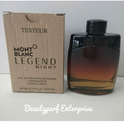 Mont Blanc - Legend Night 100ml EDP Spray Tester Pack