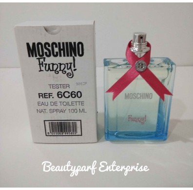 Moschino Funny For Women 100ml EDT Spray Tester Pack Without Cap