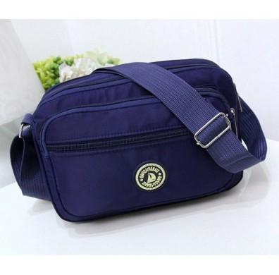 Korean Style Nylon Women Sling Bag Waterproof Beg Bags Crossbody Shoulder Bag With Free Versace Perfume Vial