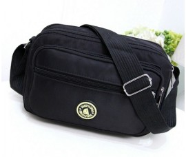 Korean Style Nylon Women Sling Bag Waterproof Beg Bags Crossbody Shoulder Bag With Free Versace Perfume Vial