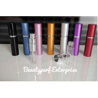 Perfume Refillable Bottle Spray 5ml - Top Spray In Type