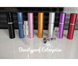 Perfume Refillable Bottle 5ml Spray - Up To 60 Sprays + Perfume Refill Tools