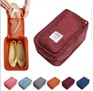 Travel Water Proof Shoe Pouch - 6 Colors