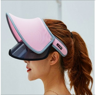 Sporty Sunshade Hat Double Layer Anti UV