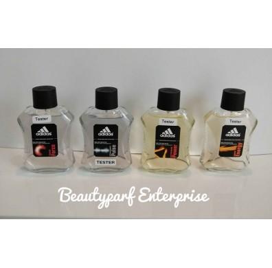 Adidas Men Tester Pack 100ml EDT Spray