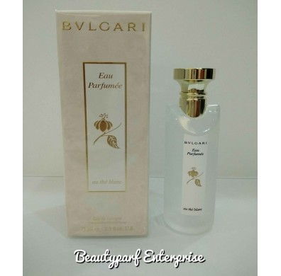 Bvlgari Eau Parfumee Au The Blanc Unisex 75ml EDC Spray