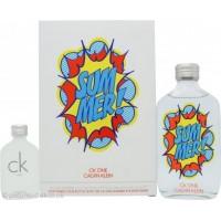 Calvin Klein - CK One Summer 100ml Set - Year 2019