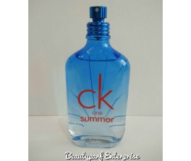 Calvin Klein - CK One Summer Year 2017 For Unisex Tester Pack 100ml EDT Spray